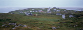 Panoramic view of Eriskay in bad weather in the Outer Hebrides Picture Credit: Ian Paterson / Scottish Viewpoint Tel: +44 (0) 131 622 7174   Fax: +44 (0) 131 622 7175 E-Mail : info@scottishviewpoint.c... Public western,isles,island,community,settlement,housing,houses,cloudy,coast,coastal