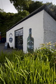 Tobermory Distillery visitor centre in Tobermory on the Isle of Mull, Inner Hebrides. Picture Credit : Gary Doak / Scottish Viewpoint  Tel: +44 (0) 131 622 7174  Fax: +44 (0) 131 622 7175  E-Mail : in... whisky,malt,scotch,visitor centre,center,tourism,industry,produce,production,Scotland,drink,manufacture,summer,sunny,argyll