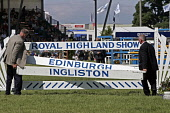 Show jumping at the Royal Highland Show, Ingliston, Edinburgh Picture Credit : Gary Doak / Scottish Viewpoint  Tel: +44 (0) 131 622 7174  Fax: +44 (0) 131 622 7175  E-Mail : info@scottishviewpoint.com... Public equestrian,competition,jump,showground,summer,sunny,event,attraction