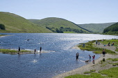 St Mary's Loch, Scottish Borders. Picture Credit : Allan Wright / Scottish Viewpoint  Tel: +44 (0) 131 622 7174  Fax: +44 (0) 131 622 7175  E-Mail : info@scottishviewpoint.com  Web: www.scottishviewpo... Public summer,sunny,blue,sky,bright,child,children,colourful,countryside,families,family,fun,happy,hills,idyllic,paddling,people,playful,playing,relax,relaxing,scotland,Marys,sunshine,swimming