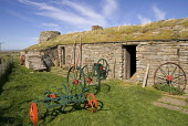 Farm Museum CORRIGALL ORKNEY Farming house buildings North Ronaldsay sheep eating turf roof grass Picture Credit: Doug Houghton / Scottish Viewpoint Tel: +44 (0) 131 622 7174   Fax: +44 (0) 131 622 71... Public farm,museum,outhouse,rural,agricultural,tools,scotland,scottish,out,house,tradition,tourism,sight,site,tourist,attraction,outside,outdoors,traditional,farming,agriculture,agronomy,cultivate,building,i