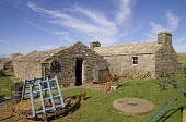 Farm Museum CORRIGALL ORKNEY Farmhouse buildings mill wheel farm implements Picture Credit: Doug Houghton / Scottish Viewpoint Tel: +44 (0) 131 622 7174   Fax: +44 (0) 131 622 7175 E-Mail : info@scott... Public farm,heritage,farmhouse,museum,rural,agriculture,scotland,scottish,homestead,dwelling,place,abode,farming,agricultural,building,buildings,millstones,milling,process,millstone,flour,traditional,agronom