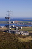 Wideforth Hill ST OLA ORKNEY Telecommunications Microwave relay link station Kirkwall Bay Picture Credit: Doug Houghton / Scottish Viewpoint Tel: +44 (0) 131 622 7174   Fax: +44 (0) 131 622 7175 E-Mai... Public telecoms,repeater,station,aerial,dish,mast,network,scotland,scottish,town,tower,posts,poles,relay,data,datalink,signals,aerials,antenna,antennas,dishes,feeds,electronic,emission,digit,digital,telephon