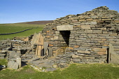 Midhowe Broch ROUSAY ORKNEY Iron age fortified defensive dwelling stronghold entrance Picture Credit: Doug Houghton / Scottish Viewpoint Tel: +44 (0) 131 622 7174   Fax: +44 (0) 131 622 7175 E-Mail :... Public orkney,rousay,midhowe,broch,prehistoric,stone,ruin,scotland,scottish,drystone,tower,iron,age,prehistory,heritage,traditional,custom,cultural,legend,keep,fortress,fort,fortifaction,defence,defenses,str