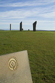 Stenness Standing Stones STENNESS ORKNEY World Heritage Site logo and Neolithic standing stones Picture Credit: Doug Houghton / Scottish Viewpoint Tel: +44 (0) 131 622 7174   Fax: +44 (0) 131 622 7175... Public orkney,stenness,unesco,world,heritage,site,logo,scotland,scottish,stone,megalith,menhirs,monolithic,monolith,henge,neolithic,bronze,age,prehistory,prehistorical,pre,historic,history,tradition,culture,