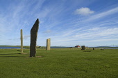 Stenness Standing Stones STENNESS ORKNEY Neolithic standing stones henge white whispy clouds Picture Credit: Doug Houghton / Scottish Viewpoint Tel: +44 (0) 131 622 7174   Fax: +44 (0) 131 622 7175 E-... Public orkney,stenness,standing,stones,circle,neolithic,scotland,scottish,stone,megaliths,menhirs,monolithic,henge,bronze,age,prehistory,prehistorical,pre,historical,history,traditions,culture,archaeology,ar