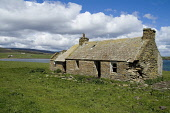 Lyness HOY ORKNEY Disused cottage ruin above Ore bay Picture Credit: Doug Houghton / Scottish Viewpoint Tel: +44 (0) 131 622 7174   Fax: +44 (0) 131 622 7175 E-Mail : info@scottishviewpoint.com This p... Public disused,cottage,ruin,decay,neglect,old,building,scotland,scottish,country,life,countryside,side,outdoors,coastal,community,remote,isolation,quiet,isolated,peace,peaceful,tranquil,fresh,air,serene,sere