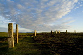 RING OF BRODGAR ORKNEY Neolithic standing stone henge circle with tourist couple walking Picture Credit: Doug Houghton / Scottish Viewpoint Tel: +44 (0) 131 622 7174   Fax: +44 (0) 131 622 7175 E-Mail... Public orkney,ring,of,brodgar,brogar,standing,stones,scotland,scottish,megaliths,menhirs,monolithic,henge,bronze,age,ancient,old,era,period,primitive,tradition,customs,cultural,historical,history,prehistoric