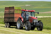 Kirbister STROMNESS AREA ORKNEY Silage tractor and grass trailer Picture Credit: Doug Houghton / Scottish Viewpoint Tel: +44 (0) 131 622 7174   Fax: +44 (0) 131 622 7175 E-Mail : info@scottishviewpoin... Public silage,tractor,grass,trailer,winter,feed,harvest,scotland,scottish,fodder,animal,agricultural,agriculture,green,fields,harvesting,land,outside,outdoors,cut,cutting,reaping,reap,arable,agronomy,country