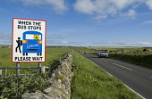 Dalespot ST OLA ORKNEY Bus stop safety traffic warning sign displayed at side main road with cars Picture Credit: Doug Houghton / Scottish Viewpoint Tel: +44 (0) 131 622 7174   Fax: +44 (0) 131 622 71... Public orkney,st,ola,dalespot,scotland,scottish,carefully,warning,signpost,rural,village,outdoors,highway,high,way,traffic,speeding,inforcement,roadside,road,thoroughfare,roadway,notice,signboard,board,sign,
