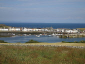 Isle of Whithorn, Dumfries and Galloway. Picture Credit: Allan Wright / Scottish Viewpoint Tel: +44 (0) 131 622 7174   Fax: +44 (0) 131 622 7175 E-Mail : info@scottishviewpoint.com This photograph can... Public summer,sunny,bay,blue,sky,boat,boats,harbour,houses,mooring,moorings,sea,shore,street,village
