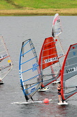 Windsurfing competition on St Mary's Loch in the Scottish Borders. Picture Credit : Jason Baxter / Scottish Viewpoint Tel: +44 (0) 131 622 7174   E-Mail : info@scottishviewpoint.com This photograph ca... Public 2011,summer,sunny,marys,mary,water,sport,watersport,activity,compete,sails,windsurf,hobby,enjoyment,tpeople,windsurfer,windsurfers