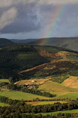 View overthe Tweed Valley to the Glentress Forest and Peel Facility, Scottish Borders Picture Credit : Jason Baxter / Scottish Viewpoint Tel: +44 (0) 131 622 7174   E-Mail : info@scottishviewpoint.com... Public 2011,autumn,sunny,attraction,MTB,mountain,biking,cycling,forest,foresty,commission,trees,scenic,pretty,countryside,rainbow,weather