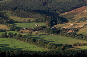 View overthe Tweed Valley to the Glentress Forest and Peel Facility, Scottish Borders Picture Credit : Jason Baxter / Scottish Viewpoint Tel: +44 (0) 131 622 7174   E-Mail : info@scottishviewpoint.com... Public 2011,autumn,sunny,attraction,MTB,mountain,biking,cycling,forest,foresty,commission,trees,scenic,pretty,countryside