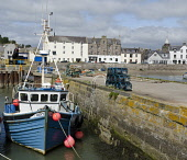 The harbour at Stonehaven, Aberdeenshire. Picture Credit : Allan Wright / Scottish Viewpoint Tel: +44 (0) 131 622 7174   E-Mail : info@scottishviewpoint.com This photograph cannot be used without prio... Public summer,sunny,coast,coastal,water,boat,fishing,buoys,lobster,pot,pots,creel,creels,moored,moorings