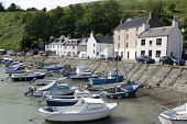 The harbour at Stonehaven, Aberdeenshire. Picture Credit : Allan Wright / Scottish Viewpoint Tel: +44 (0) 131 622 7174   E-Mail : info@scottishviewpoint.com This photograph cannot be used without prio... Public summer,sunny,coast,coastal,water,boat,boats,harbour,houses,moored,moorings