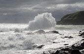 Waves breaking at Stonehaven Bay, Aberdeenshire. Picture Credit : Allan Wright / Scottish Viewpoint Tel: +44 (0) 131 622 7174   E-Mail : info@scottishviewpoint.com This photograph cannot be used witho... Public summer,sunny,coast,coastal,water,waves,rough,weather,stormy,surf,crash,crashing