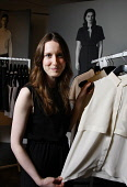 Scottish fashion designer Rachael Barrett who has designed outfits for Lady Gaga which she wore during her Monster Ball Tour.  Picture Credit : Garry McHarg / Scottish Viewpoint Tel: +44 (0) 131 622 7... Public, NMR 2011,people,celebrity,clothes,clothing,design,couture