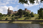 Inverness Castle and the River Ness, Inverness, Highland. Picture Credit : Ross Graham / Scottish Viewpoint Tel: +44 (0) 131 622 7174   E-Mail : info@scottishviewpoint.com This photograph cannot be us... Public 2011,summer,sunny,water,building,architecture