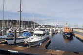 The marina at Inverness, Highland. Picture Credit : Ross Graham / Scottish Viewpoint Tel: +44 (0) 131 622 7174   E-Mail : info@scottishviewpoint.com This photograph cannot be used without prior permis... Public 2011,spring,sunny,moray,firth,water,pontoons,boat,boats,yacht,yachts,activity,sailing,lifeboat,life,kessock,bridge