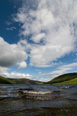 St Marys Loch from it's southern shore, Scottish Borders. Picture Credit : Derek Mitchell / Scottish Viewpoint Tel: +44 (0) 131 622 7174   E-Mail : info@scottishviewpoint.com This photograph cannot be... Public 2011,summer,sunny,Yarrow,Valley,water,clouds