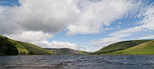 St Marys Loch from it's southern shore, Scottish Borders. Picture Credit : Derek Mitchell / Scottish Viewpoint Tel: +44 (0) 131 622 7174   E-Mail : info@scottishviewpoint.com This photograph cannot be... Public 2011,summer,sunny,Yarrow,Valley,water,clouds,panoramic