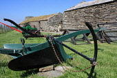 Corrigall Farm Museum is a restored farmhouse from the 19th Century, Harray, Mainland, Orkney. Picture Credit : Mark Ferguson / Scottish Viewpoint Tel: +44 (0) 131 622 7174   E-Mail : info@scottishvie... Public 2009,summer,sunny,attraction,history,heritage,farm,farming,plough,equipment,historical,isle,isles,island,islands