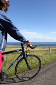 The Rousay Lap is a 13 mile coastal route around the Island of Rousay. Participants can either walk, run or cycle and the event is usually held evey August, Orkney. Picture Credit : Mark Ferguson / Sc... Public 2010,summer,sunny,active,bicycle,bike,cycling,cyclist,female,fitness,girl,health,healthy,people,person,relax,ride,sport,event