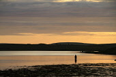 Midsummer fishing on Loch of Stenness, Mainland, Orkney. Picture Credit : Mark Ferguson / Scottish Viewpoint Tel: +44 (0) 131 622 7174   E-Mail : info@scottishviewpoint.com This photograph cannot be u... Public summer,isles,islands,Game,Pursuit,Activity,Fisherman,Leisure,angler,atmospheric,silhouette