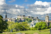 The city skyline of Edinburgh from Calton Hill.Picture Credit : Simon Williams / Scottish Viewpoint  Tel: +44 (0) 131 622 7174 E-Mail : info@scottishviewpoint.com This photograph cannot be used withou... Public 2010,summer,sunny,HDR,balmoral,clock,tower,castle,princes,street