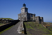 A lighthouse dating from 1816 built by Robert Stevenson on the Isle of MAy, Firth of Forth. Picture Credit : Ian Macrae Young / Scottish Viewpoint   Tel: +44 (0) 131 622 7174  E-Mail : info@scottishvi... Public 2012,summer,sunny,building,attraction,visitor,tourist