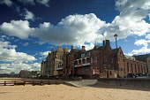 The swimming baths from the beach at Portobello, on the outskirts of the city of Edinburgh. Picture Credit : Keith Fergus / Scottish Viewpoint   Tel: +44 (0) 131 622 7174  E-Mail : info@scottishviewpo... Public 2012,summer,sunny,sand,sandy,seaside,clouds,firth,forth,coast,coastal,coastline,pool