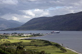 The Caledonian MacBrayne ferry for Stornoway, Isle of Lewis departs Ullapool, Highlands of Scotland. Picture Credit : Iain McLean / Scottish Viewpoint   Tel: +44 (0) 131 622 7174  E-Mail : info@scotti... Public 2012,summer,sunny,highland,mountain,mountains,sailing,sail,cal,mac,calmac,transport,travel,boat,atmospheric,loch,broom,water
