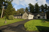 Galbraith Hall at Culcreuch Castle Hotel, Fintry, Central District. Picture Credit : Garry F McHarg / Scottish Viewpoint Tel: +44 (0) 131 622 7174  E-Mail : info@scottishviewpoint.com  This photograph... Public 2012,autumn,sunny,accommodation,holiday,estate,function,centre,conference,wedding