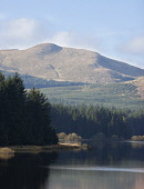 Carron Valley Reservoir in the Carron Valley Forest, Central District. Picture Credit : Andy Bennetts / Scottish Viewpoint   Tel: +44 (0) 131 622 7174  E-Mail : info@scottishviewpoint.com  This photog... Public 2012,autumn,sunny,tranquil,scene,canoe,canoeist,canoeists,activity,leisure,mountain,hill,hills,water,forestry,trees