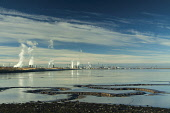 Grangemouth from Kinneil on the Firth of Forth, Falkirk District. Picture Credit : Keith Fergus / Scottish Viewpoint   Tel: +44 (0) 131 622 7174  E-Mail : info@scottishviewpoint.com  This photograph c... Public 2012,autumn,sunny,water,river,mud,mudflats,Oil,Refinery,petrol,power,economy,industry,pollution,energy