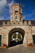 Cantraybridge College - established in 1995, is a rural skills training college located in Croy for young adults with a learning disability, Highlands of Scotland. Picture Credit : Laurence Leech / Sc... Public 2012,summer,sunny,Clock,Tower,highland,building,education