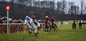 The Dumfriesshire and Stewartry Point to Point fixture at Overton Farm, Crossford, South Lanarkshire. Picture Credit : Andrew Wilson / Scottish Viewpoint   Tel: +44 (0) 131 622 7174  E-Mail : info@sco... Public 2013,winter,horse,racing,jockey,jump,jumper,race,fence,rider,riders,riding,horses,sport,competition,competitors,event