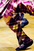 European Highland Dance Championships held at the Nevis Centre, Fort William, Highlands of Scotland. Picture Credit : Kenny Ferguson / Scottish Viewpoint Tel: +44 (0) 131 622 7174   E-Mail : info@scot... Public 2008,interior,Lochaber,compete,competition,event,activity,feet,detail,dancing,kilt,tartan,people