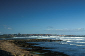 Looking over to Dunbar from the John Muir Way, East Lothian. Picture Credit : Keith Fergus / Scottish Viewpoint   Tel: +44 (0) 131 622 7174  E-Mail : info@scottishviewpoint.com  This photograph cannot... Public 2013,winter,sunny,Long,Distance,Path,Walk,Walking,Coastline,Coast,coastal,water,waves