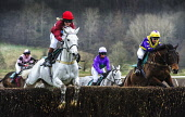 Eglinton Point to Point Steeplechases at Overton Farm, Crossford, South Lanarkshire. Picture Credit : Andrew Wilson / Scottish Viewpoint  Tel: +44 (0) 131 622 7174  E-Mail : info@scottishviewpoint.com... Public 2013,winter,horse,racing,jockey,jump,jumper,race,fence,rider,riders,riding,horses,sport,competition,competitors,event