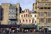 Princes Street, in the city centre of Edinburgh. Picture Credit : Allan Wright / Scottish Viewpoint  Tel: +44 (0) 131 622 7174  E-Mail : info@scottishviewpoint.com  Web: www.scottishviewpoint.com This... Public 2005,autumn,sunny,retail,shop,shopping,shops,shopper,shoppers,people,person,visitors,visitor,romanes,paterson,tartan,tat,bookworld,marks,spencers,flag,flags,saltire,lion,rampant,capital
