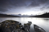 Loch Aline, Morvern, Highlands of Scotland. Credit : Chris Simmons / Scottish Viewpoint  Tel: +44 (0) 131 622 7174  E-Mail : info@scottishviewpoint.com  Web: www.scottishviewpoint.com This photograph... Public 2013,winter,atmospheric,atmosphere,hill,hills,moody,mystery,brooding,water,highland,cloudy,clouds,foreshore,still,stillness