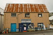 Tarbert Stores hardware shop, Tarbert on the Isle of Harris, Outer Hebrides. Picture Credit : D Cowie / Scottish Viewpoint Tel: +44 (0) 131 622 7174   E-Mail : info@scottishviewpoint.com This photogra... Public 2011,autumn,western,isles,island,retail,specialised,garden,gardening,tools,spade,fork,supplies,fishing,tackle,DIY