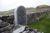 The grave of Neil McAlpine, author of the Gaelic Dictionary on the Isle of Islay, Inner Hebrides. Picture Credit : Iain McLean / Scottish Viewpoint Tel: +44 (0) 131 622 7174   E-Mail : info@scottishvi... Public 2011,winter,heritage,graveyard