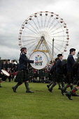 The World Pipe Band Championships at Glasgow Green. Picture Credit : Iain McLean / Scottish Viewpoint Tel: +44 (0) 131 622 7174   E-Mail : info@scottishviewpoint.com This photograph cannot be used wit... Public, NMR 2011,summer,event,people,crowd,crowds,showground,tartan,pipers,drum,drummer