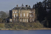 The Haining, a mansion near Selkirk, Scottish Borders. The Haining Charitable Trust was established in 2010 to safeguard the future of the 18th century house and 150-acre estate, after the late Andrew... Public 2011,winter,sunny,loch,water,building,architecture,stately,home