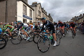 The start of the opening stage of the Tour of Britain, Peebles, Scottish Borders. Picture Credit : Angus Blackburn / Scottish Viewpoint Tel: +44 (0) 131 622 7174   E-Mail : info@scottishviewpoint.com... Public 2011,summer,event,cycle,cycling,cyclist,cyclists,bike,biking,competition,compete,bicycle,bicycling,town,race,racing,pro,professional,racers,sport,sporting,lycra,people