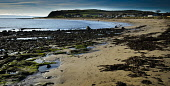 The village of Shandwick on the Moray Firth, Highlands of Scotland. Picture Credit : Andrew Wilson / Scottish Viewpoint Tel: +44 (0) 131 622 7174   E-Mail : info@scottishviewpoint.com This photograph... Public 2012,winter,sunny,coast,coastal,bay,beach,sand,sandy