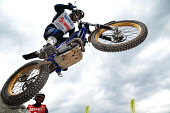 SPEA FIM World Trial World Championship, Fort William, Highlands of Scotland. Picture Credit : Kenny Ferguson / Scottish Viewpoint Tel: +44 (0) 131 622 7174   E-Mail : info@scottishviewpoint.com This... Public, NMR 2010,summer,event,motorbike,motorcyclist,balance,upright,trialbike,lochaber,skill,expert,precise,compete,competitor,people